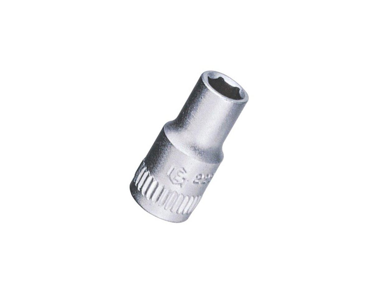 Genius Tools 282504 1/4'' Dr. 1/8'' Hand Socket