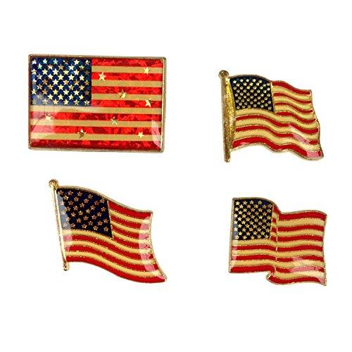 American Flag Piece Metal Pin