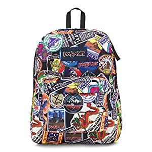 JANSPORT SUPERBREAK HERITAGE PATCHES BACKPACK