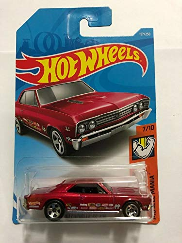 Hot Wheels 2019 Mainline Muscle Mania 157/250 - '67 Chevelle SS 396 [Int. Card] ()