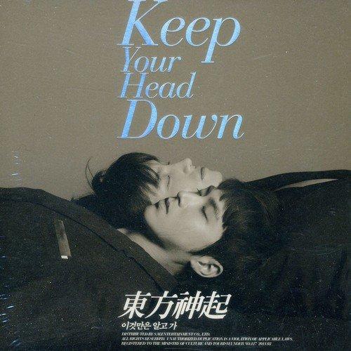 CD : Tohoshinki - Keep Your Head Down (Asia - Import)