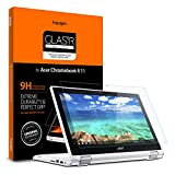 Spigen Tempered Glass Screen Protector Designed for Acer Chromebook R 11 Convertible (11.6 inch)