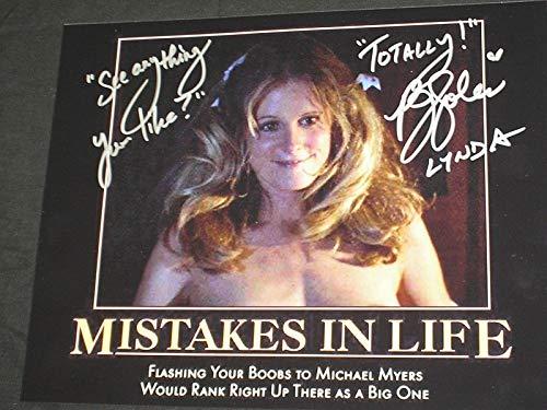 PJ SOLES Signed 8x10 Photo Lynda Halloween Autograph F