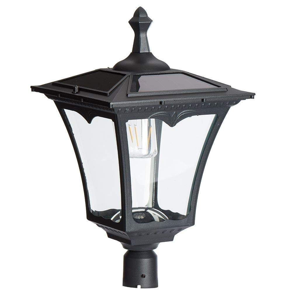 Sterno Home GL23716BK Outdoor Light 1-Pack Black Paradise