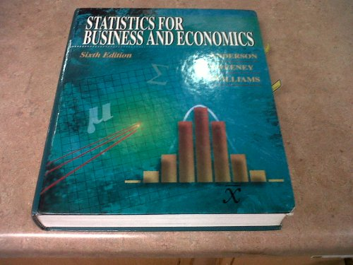 Statistics for Business and Economics, 6th Edition