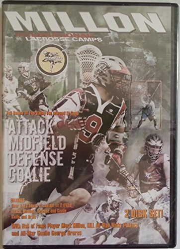 Millon International Lacrosse Camps: Attack, Midfield, Defense, Goalie [2 disc set]