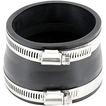 SPE 97411 Spectre Performance 97411 Black 4 x 3.5 EPDM Coupler//Reducer