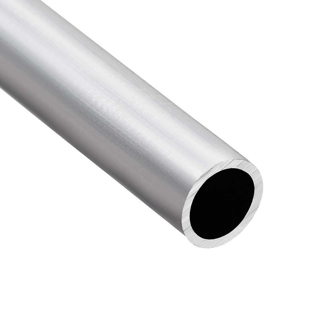 6063 Aluminum Round Tube 300mm Length 13mm OD 9mm Inner Dia Seamless Tubing