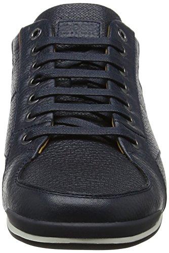 BOSS Basses Lowp Sneakers 401 Dark tbpf Blue Homme Saturn Bleu xHrxpgwq