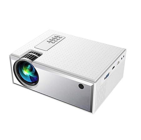 YWT Proyector, Mini proyector portátil de Video de 1800 lúmenes ...