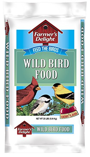 (Wagner's 53003 Farmer's Delight Wild Bird Food, With Cherry Flavor, 20-Pound Bag )