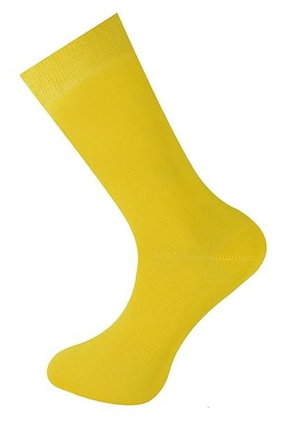 Mysocks Calcetines de color liso para hombres y mujeres: Amazon.es: Ropa y accesorios