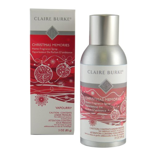 Claire Burke Home Fragrance Spray, Christmas Memories
