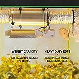VIVOSUN 1/8 inch Rope Hanger w/Improved