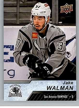 Amazon Com 2018 19 Upper Deck Ahl Hockey 45 Jake Walman San