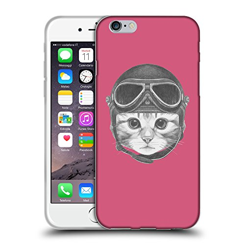 GoGoMobile Coque de Protection TPU Silicone Case pour // Q05280614 Casque kitty Rougir // Apple iPhone 6 PLUS 5.5""
