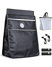 Car Storage Bag Multifunctional, ZeChok Foldable and Leak-Proof Car Storage Bag Comes with Detachable Waterproof Inner Tank Tidy Auto Organization & Boot Maintenance Suitable for All Car Models