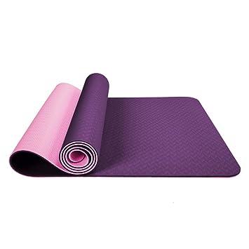 YMQG Esterilla Yoga, Colchoneta Gimnasia Estera De Fitness ...