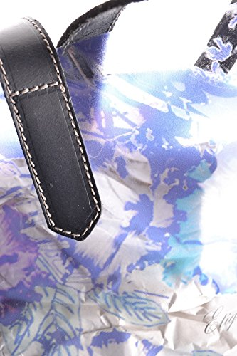 Etiqueta Negra Borsa Shopping Donna MCBI118083O Plastica Blu