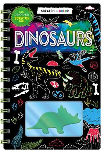 Scratch Art: Dinosaurs (Scratch & Color)