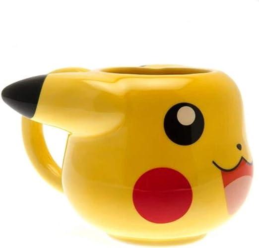 GB eye GYE-MGM0002 Taza de desayuno Pikachu, 475 milliliters, Cerámica, amarillo: Amazon.es: Hogar