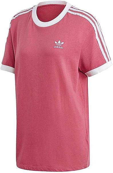 adidas 3 strioes shirt damen burgundy