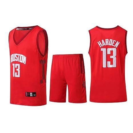 Sump Boys Basketball Fan Jerseys Houston Rockets Harden Uniformes ...