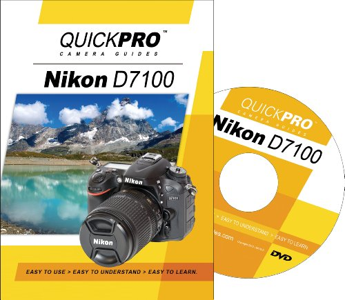 Quickpro Guides Camera - Nikon D7100 Instructional DVD by QuickPro Camera Guides