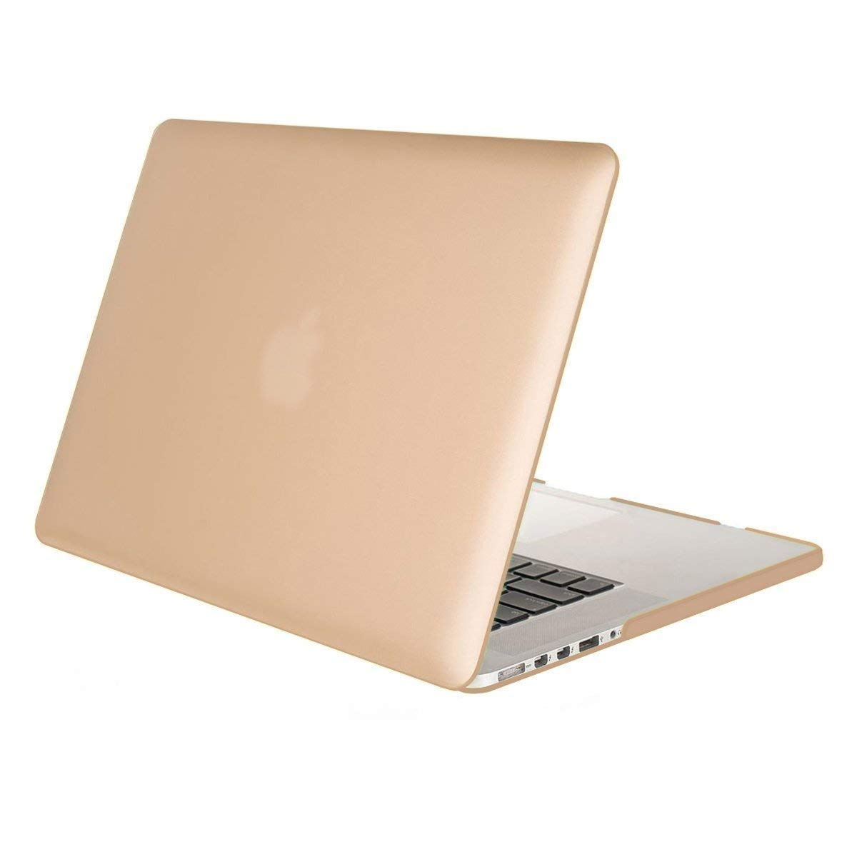 Baby Pink MOSISO Plastic Hard Shell Snap On Case Cover Only Compatible MacBook Pro 13 Inch with Retina Display No CD-Rom No USB-C A1502//A1425, Version 2015//2014//2013//end 2012 Rose quartz
