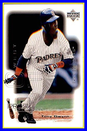 - 2000 Upper Deck Pros and Prospects #78 Tony Gwynn RIP HOF SAN DIEGO PADRES