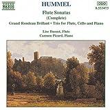 Hummel: Flute Sonatas (Complete): Grand Rondeau Brillant; Trio for Flute, Cello and Piano