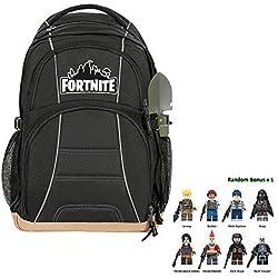 2019 Battle Royale School Bag Notebook Daily 15 inch Backpack (Game Black)
