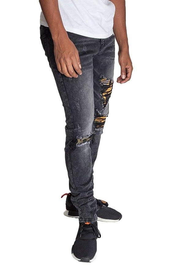 Amazon.com: KDNK - Pantalones vaqueros para hombre ...