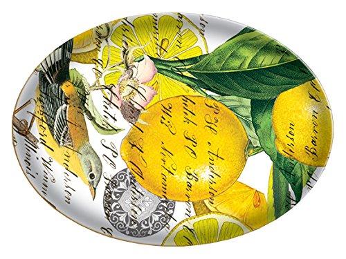 Michel Design Works Glass Soap Dish, Lemons