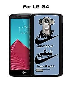 LG G4 Funda Case Brand Logo Nike--Just Do It Tough Protection Unique Anti Slip Dust Proof Funda Case Cover