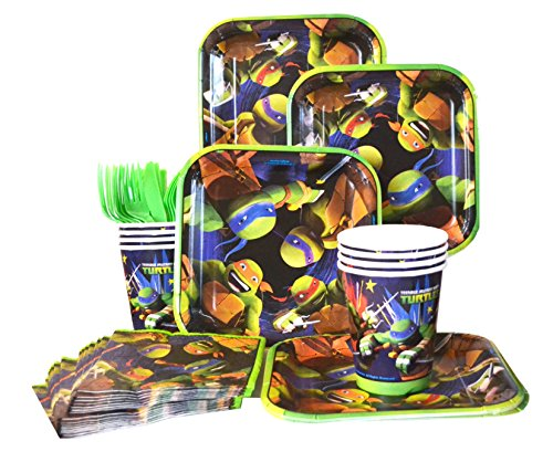 Teenage Mutant Ninja Turtles Party Standard Kit (Serves 8) ()