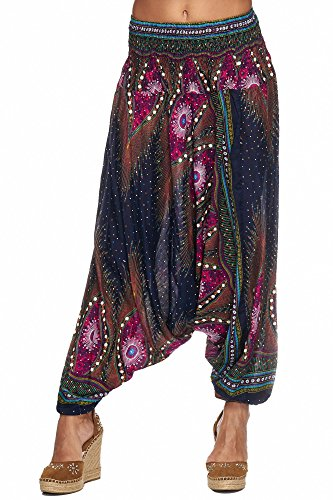 Blau Pink Mod Femme Zarlena 8 Pantalon qRH1Sf