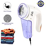 HENVREN Electric Sweater Shaver Lint Remover Machine, Standard Fabric Shaver For Use On Clothes, Wool, Carpet, Couch Furniture And Most Pilling Surfaces (Purple)