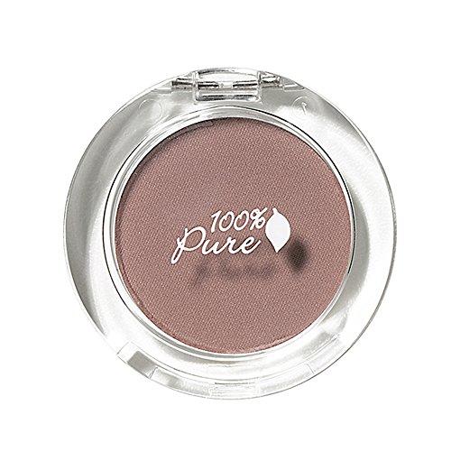 100% Pure Pressed Powder Eye Shadows, Petal Tip, 0.07 Ounce