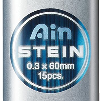 Pack of 12 Pentel 0.3 mm 2B Ain Stein Refill Leads