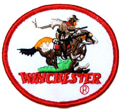 winchester-horse-and-rider-embroidered-iron-on-patch-applique-crest-275-x-325-inch