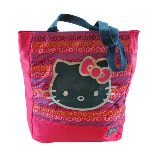 適格スペースほかにHand Bag - Hello Kitty - Kitty Black Face Pink Bag New 698666