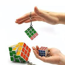 Crazy Dream Mini magic cube Keychain 3*3*3 Cube Puzzle Magic Game Toy-1pcs