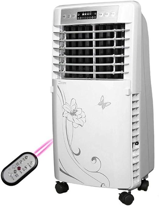 Ventilador en movimiento Ventilador del Aire Acondicionado Ventilador frío Refrigerador de Aire de Tipo frío único Silencio Remoto del hogar Control Remoto Ventilador del Aire Acondicionado: Amazon.es: Hogar