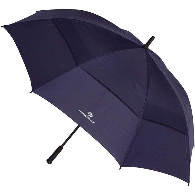 Procella Golf Regenschirm - Groß Schirm - Sturmfester Stockschirm Automatik - von Fallschirmspringern getestet, Schützt Vor R