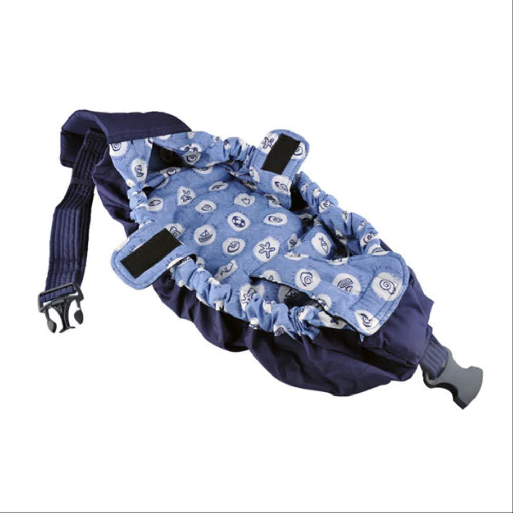 bleu ocean 4  Porte-bébé économique Face à face en coton biologique Stretch Sling sac à dos Sac à dos pour bébé pour bébé Soins 1pcs 5 Couleurs OneTaille bleu grid   5