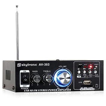 Skytronic-AV 360 final de audio-Amplificador de potencia (Hi-Fi 2