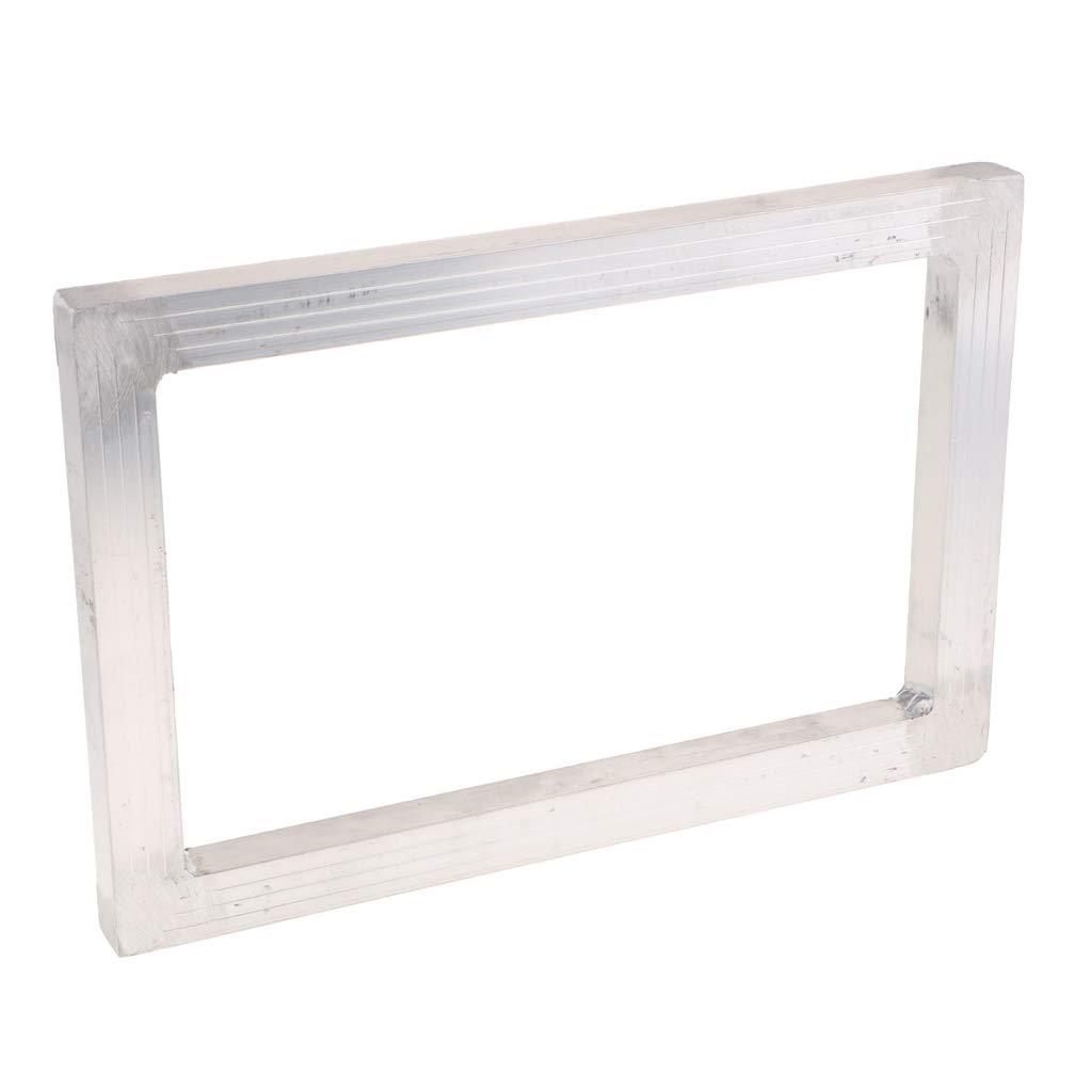 kesoto Aluminum Frame Size White Mesh Silk Screen Printing Screens 20x30CM Outside