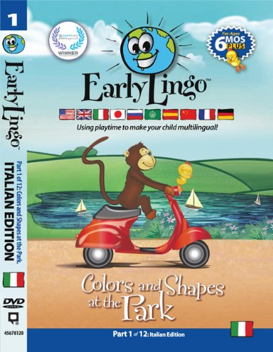 Early Lingo Colors and Shapes at The Park DVD (Part 1 Italian)