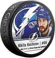 Inglasco Nikita Kucherov (Tampa Bay Lightning) Photo Hockey Puck
